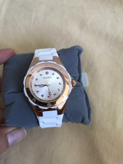 Michele $350 NWT SMALL 'Jelly Bean' Topaz MWW12P000003 Image 2