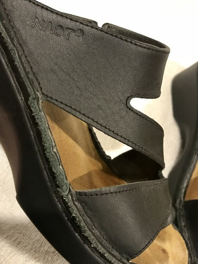 Naot Monterey Leather Size8.5 Black Sandals Image 10