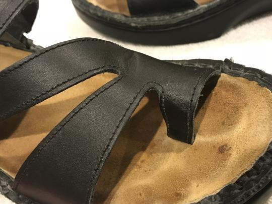 Naot Monterey Leather Size8.5 Black Sandals Image 7