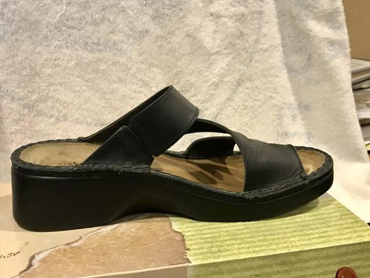 Naot Monterey Leather Size8.5 Black Sandals Image 9