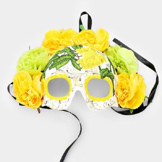 Other Floral Detail Halloween Venetian Masquerade Mask Image 2