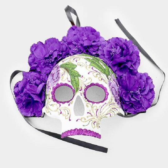 Other Floral Detail Halloween Venetian Masquerade Mask