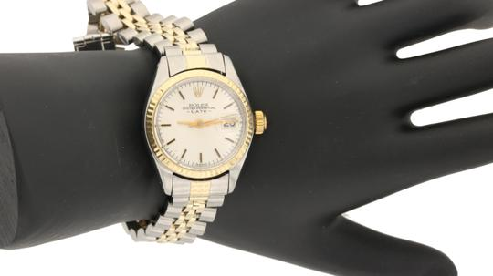 Preload https://img-static.tradesy.com/item/24015395/rolex-two-tone-vintage-oyster-perpetual-silver-dial-fluted-bezel-circa-1980-s-watch-0-1-540-540.jpg
