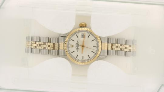 Rolex Vintage Rolex Oyster Perpetual Silver Dial Fluted Bezel Circa 1980's