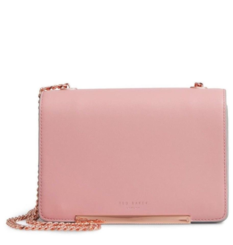 f5377dceaf1 Ted Baker Earie Leather Color-blocking Accordian Silhouette Cross Body Bag  Image 0 ...