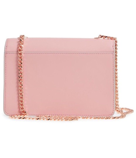 Ted Baker Earie Leather Color-blocking Accordian Silhouette Cross Body Bag