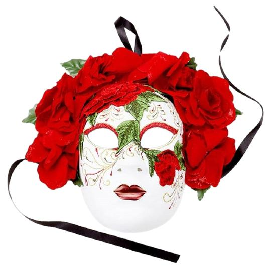 Preload https://img-static.tradesy.com/item/24015431/red-floral-detail-halloween-venetian-masquerade-mask-0-1-540-540.jpg
