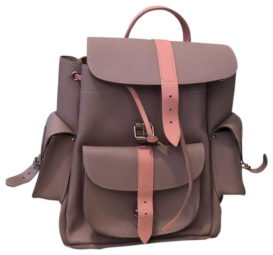 Preload https://img-static.tradesy.com/item/24015446/women-s-lella-pink-leather-backpack-0-1-540-540.jpg