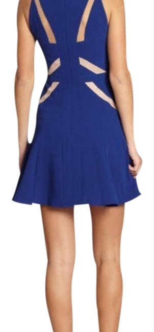 Preload https://img-static.tradesy.com/item/24015478/bcbgmaxazria-blue-solie-short-formal-dress-size-2-xs-0-1-650-650.jpg