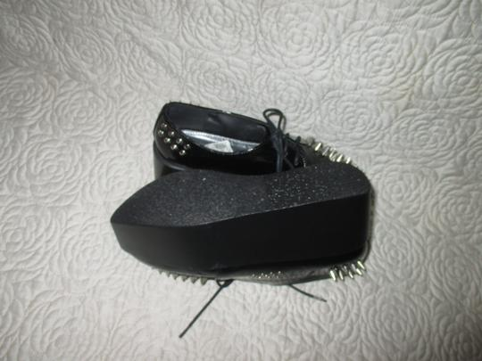 City Snappers black Platforms