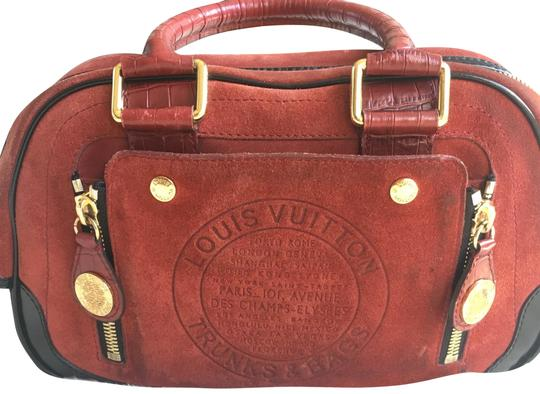 Preload https://img-static.tradesy.com/item/24015537/louis-vuitton-limited-edition-havane-stamped-rust-suede-and-leather-satchel-0-1-540-540.jpg