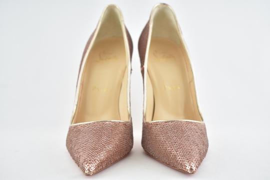 Christian Louboutin Sokate Kate Pigalle Stiletto Patent nude Pumps