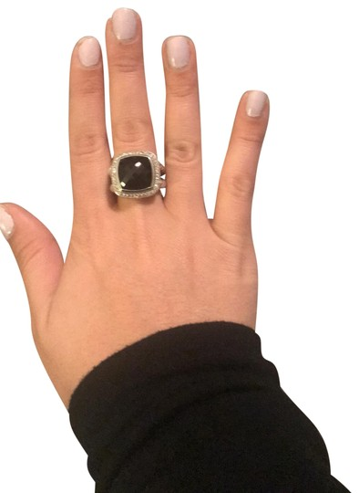 Preload https://img-static.tradesy.com/item/24015575/david-yurman-black-albion-with-hematine-and-diamond-14mm-ring-0-1-540-540.jpg