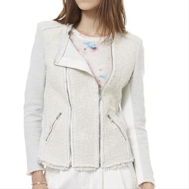 Rebecca Taylor Blue and cream Jacket Image 11