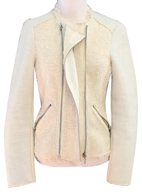Rebecca Taylor Blue and cream Jacket Image 1