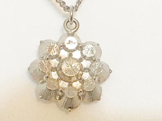 Chanel Chanel - Crystal Camellia Flower Pendant - Silver