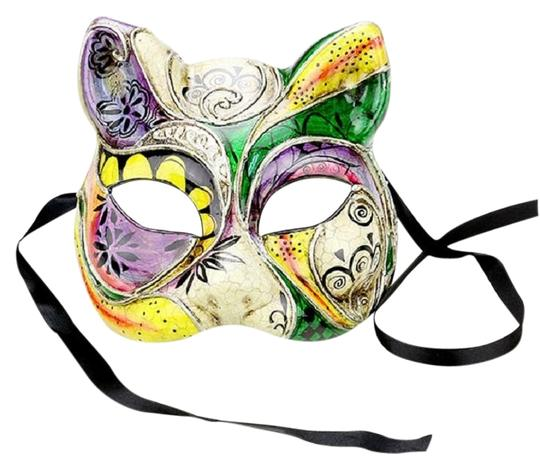 Other Colorful Halloween Venetian Masquerade Half Mask