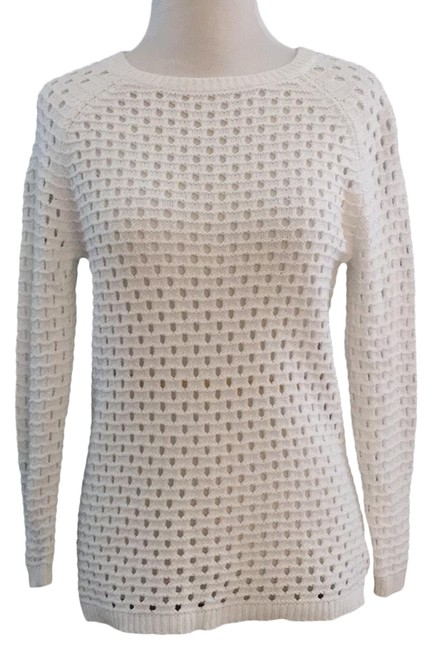 Preload https://img-static.tradesy.com/item/24015690/cynthia-rowley-59478-open-knit-cotton-white-sweater-0-1-650-650.jpg