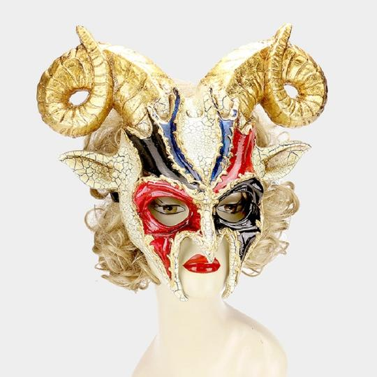 Other Halloween Goat Masquerade Mask