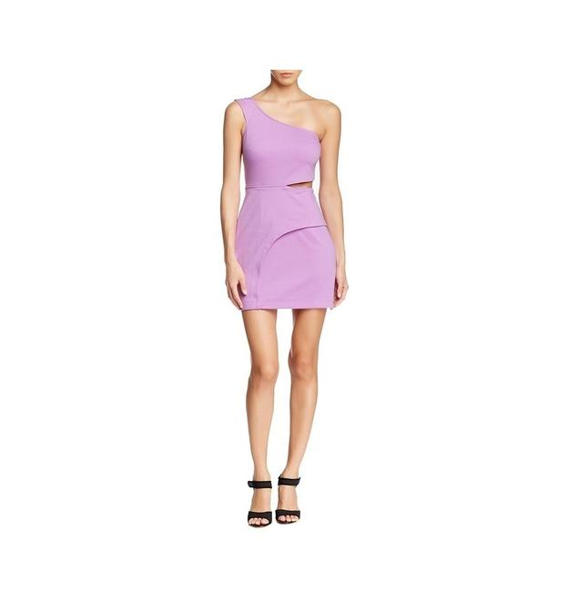 Preload https://img-static.tradesy.com/item/24015733/bcbgeneration-lavender-one-shoulder-cutout-asymmetrical-bodycon-short-cocktail-dress-size-4-s-0-0-650-650.jpg