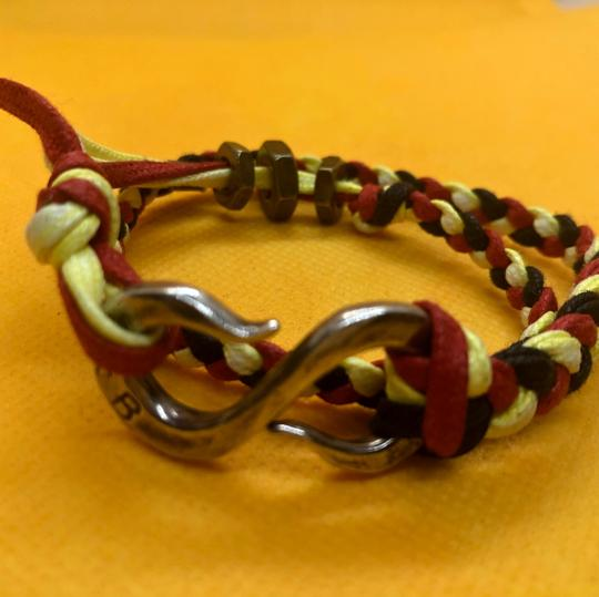 Giles & Brother Giles and Brother Braided Cord Double-Wrap Bracelet