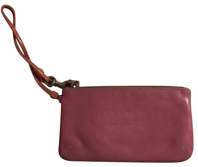 Coach 1941 Pink Leather Wristlet Coach 1941 Pink Leather Wristlet Image 1