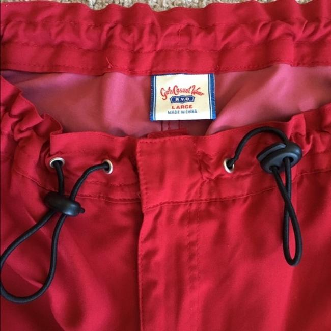 RYD Girls Casual Wear Relaxed Pants Red Image 3
