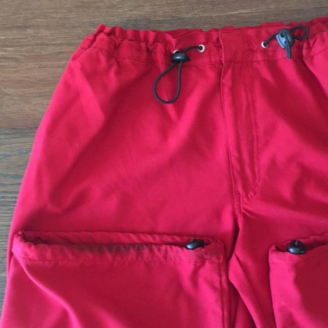 RYD Girls Casual Wear Relaxed Pants Red