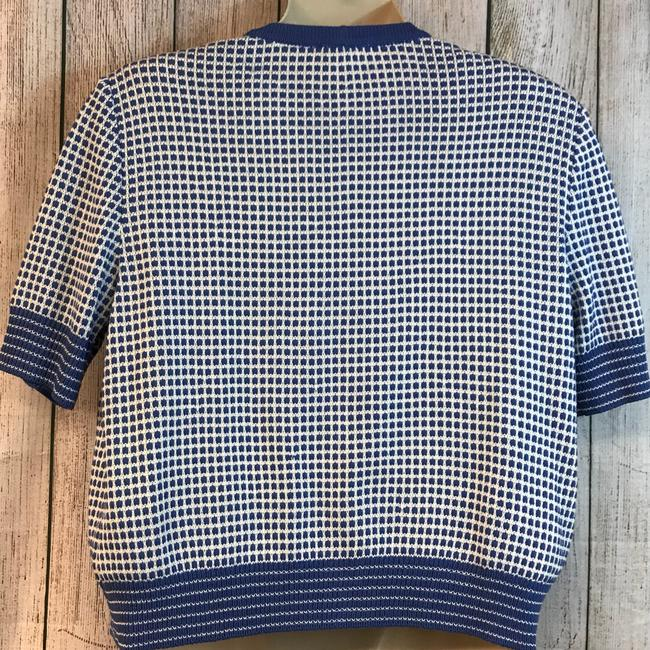 St. John Knit Top Blue