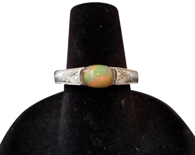 Opal S. African / Diamond Ring Opal S. African / Diamond Ring Image 1
