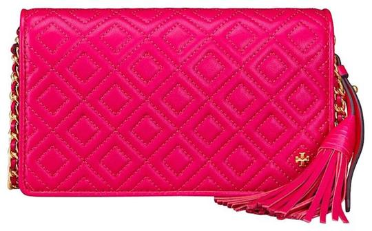Tory Burch Fleming Quilted Gucci Cross Body Bag