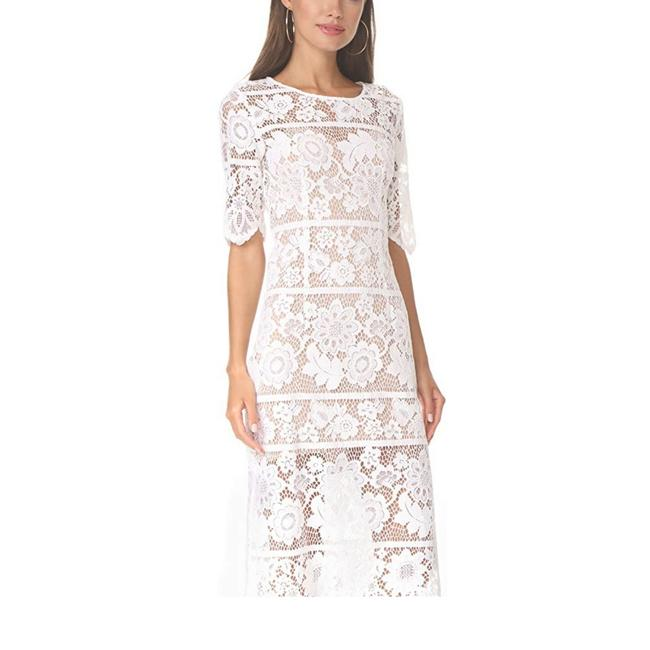 For Love & Lemons And Midi Lace Maxi Bodycon Dress