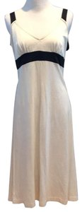 Dark Brown and cream Maxi Dress by James Perse