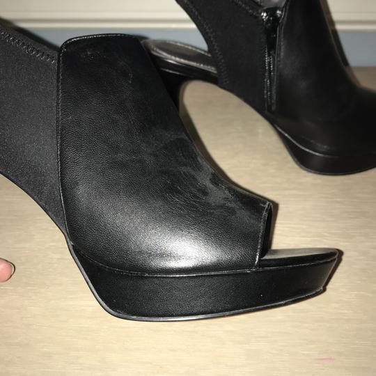 Tahari Black Platforms