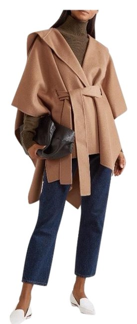 Preload https://img-static.tradesy.com/item/24015976/theory-buckwheat-new-divide-wool-cashmere-hooded-belted-ponchocape-size-4-s-0-4-650-650.jpg