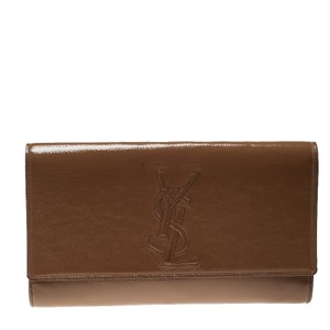 Saint Laurent Brown Clutch