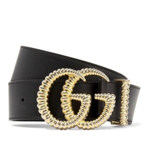 Gucci Torchon GG logo leather belt size 70