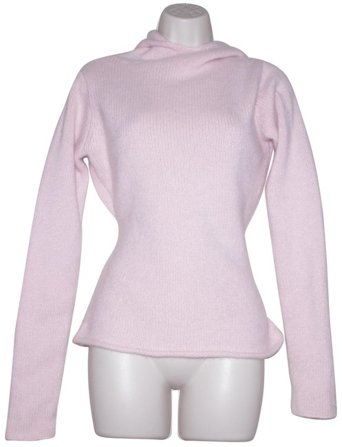 Preload https://img-static.tradesy.com/item/24016050/eileen-fisher-pink-cashmere-hooded-sweaterpullover-size-4-s-0-1-650-650.jpg