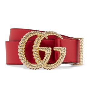 Gucci torchon GG logo leather belt size 75
