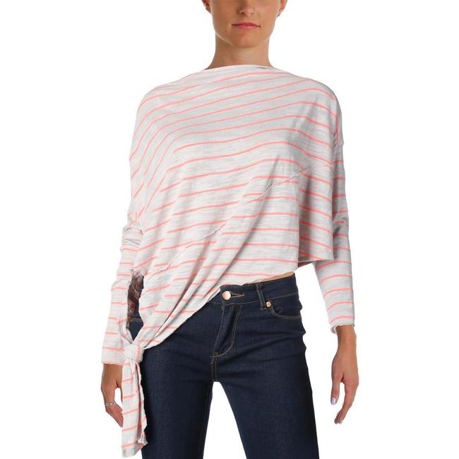Free People Asymmetric Long Sleeves Casual Sweater
