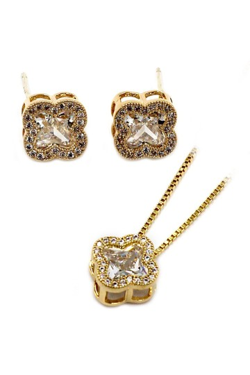 Preload https://img-static.tradesy.com/item/24016109/gold-stylish-cherry-crystal-earrings-set-necklace-0-0-540-540.jpg