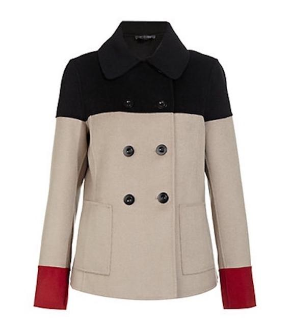 Item - Red Black Camel Color Hand Sewn Collection Coat Size 2 (XS)
