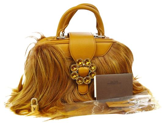 Preload https://img-static.tradesy.com/item/24016159/louis-vuitton-new-limited-edition-camel-transsiberian-brown-goat-hair-leather-satchel-0-1-540-540.jpg