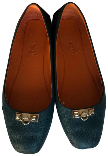 Preload https://img-static.tradesy.com/item/24016190/hermes-blue-liberty-flats-size-eu-38-approx-us-8-regular-m-b-0-1-540-540.jpg