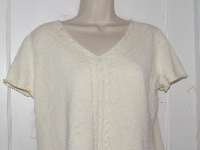 St. John Dressy Or Casual Excellent Condition Short Sleeve Size M By Sweater Image 3