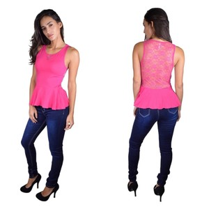 Color Story Top Fuchsia