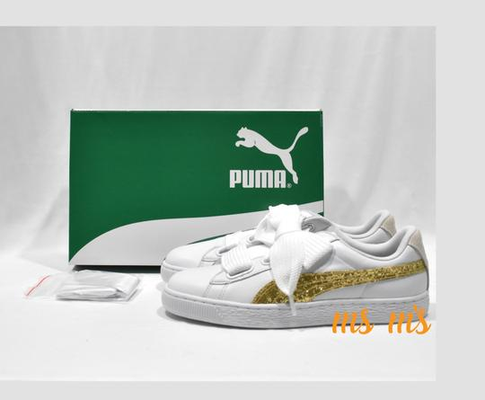 Puma white Athletic Image 1