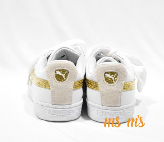 Puma white Athletic Image 2