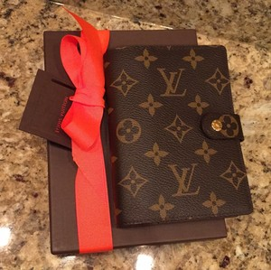 798467ffef43 Louis Vuitton Lv Monogram Pochette New Small Agenda Planner Card ...