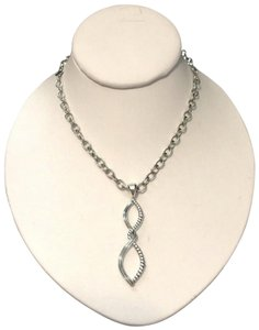 Lagos LAGOS Pendant Necklace Sterling Silver Caviar Swirl